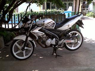 Foto Modifikasi Yamaha Vixion