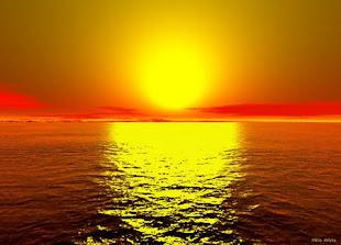 O pôr do Sol me seduz