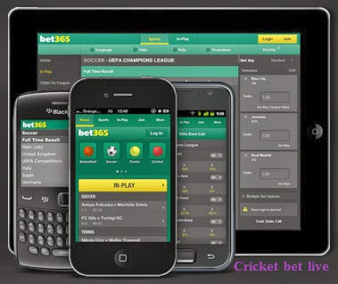 cricket bet live