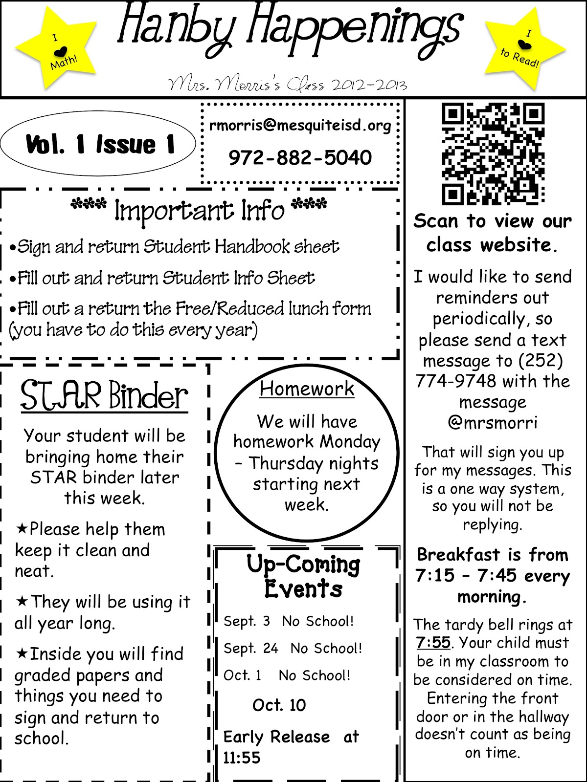 Classroom Newsletter Ideas ~ Simply nd resources inspiring monday newsletter and