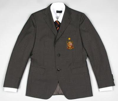 traje chaqueta selección española de fútbol
