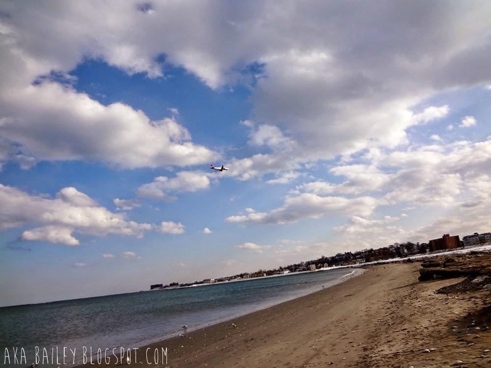 Revere Beach in March