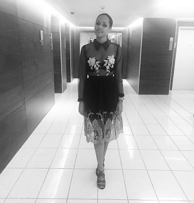 We are totally loving these new photos of Tania Omotayo