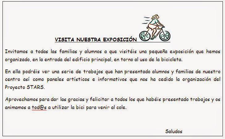 Invitación a Bicicultura en el Bolivia