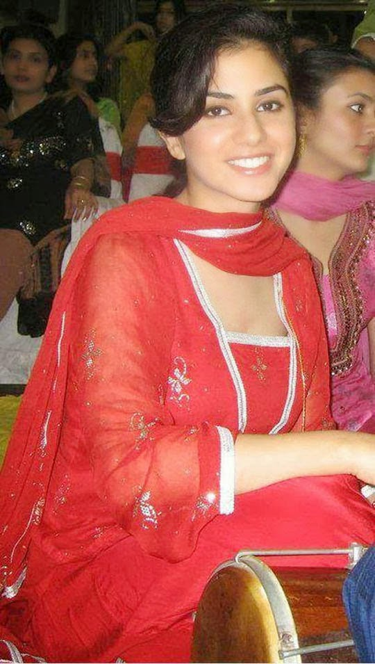 Cute Indian Girl In Red
