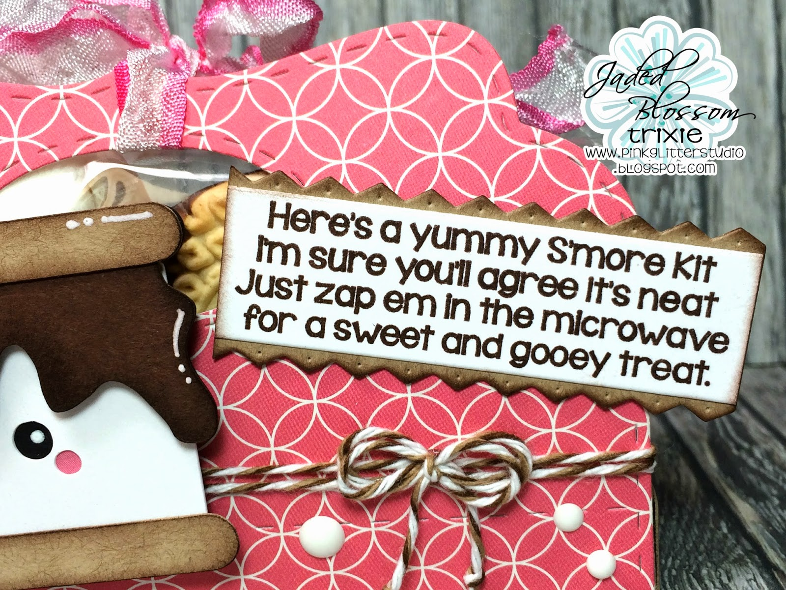 Pink Glitter Studio: Candy Caddy Die Blog Hop