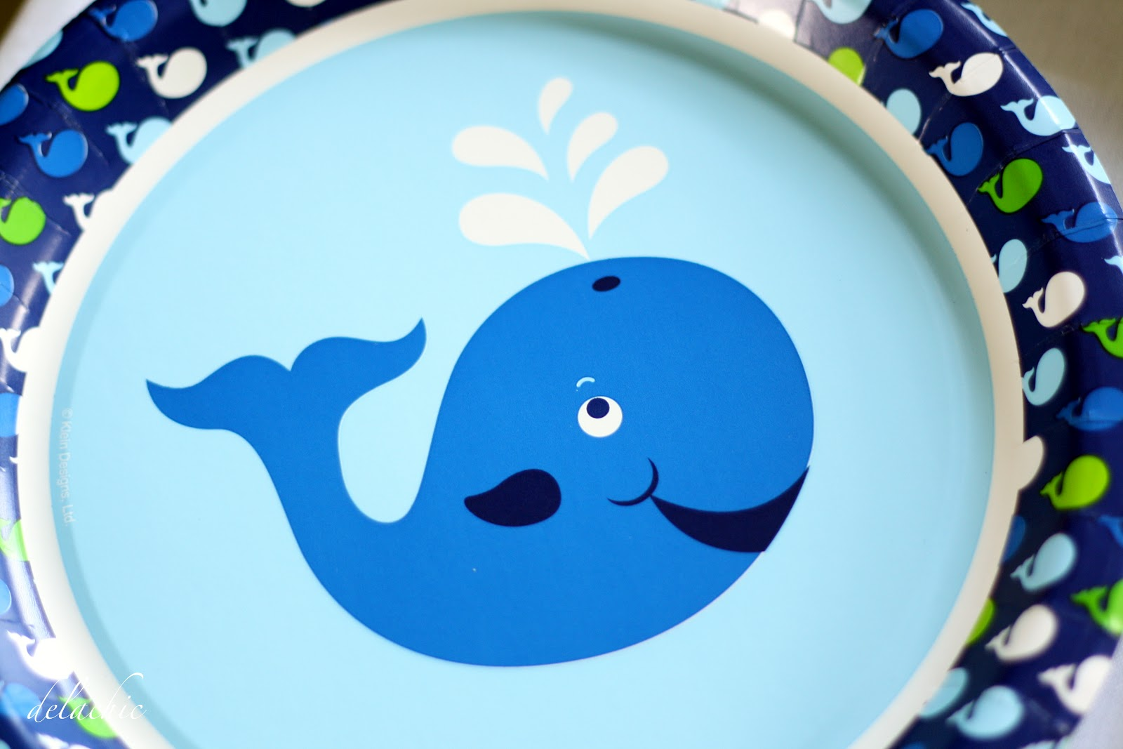 whale and sea creatures paper plates whale gift bags used