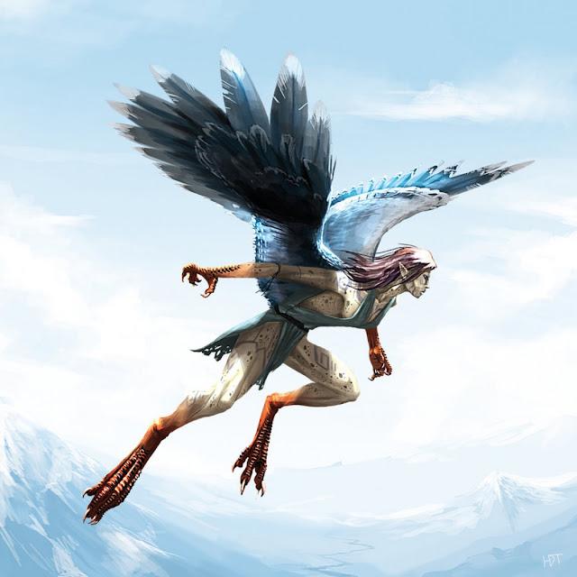 Harpy por highdarktemplar