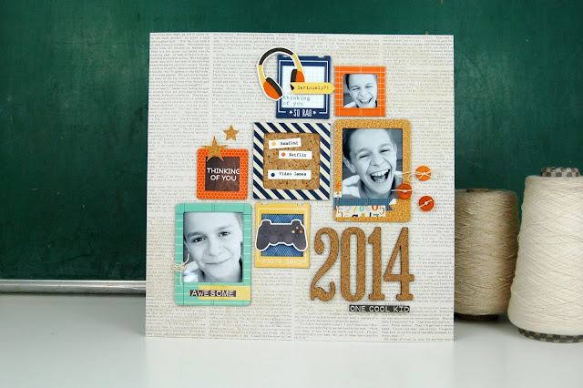 Product Playground: #scrapbooking video class on how to use frames and cork on a layout. http://www.bigpictureclasses.com/classes/product-playground-frames-cork