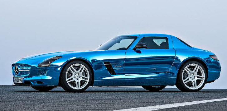 Carnation auto blog this is no weenie mercedes benz sls for Mercedes benz sls amg electric drive price