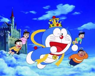 Doraemon dan teman-teman gambar kartun