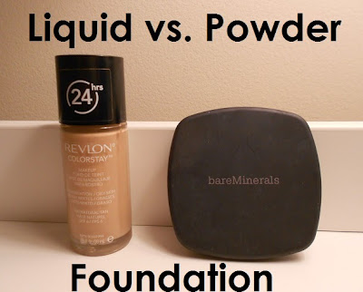 Powder vs Liquid Foundation