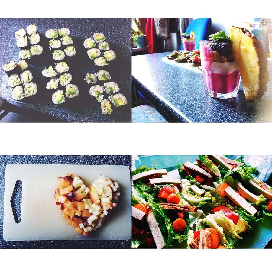 vegan healthy heart salad