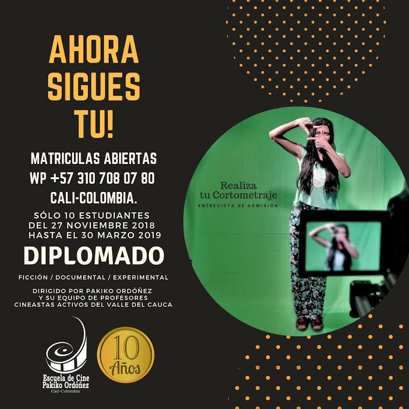 CALI. Escuela de Cine Pakiko Ordóñez. Patrimonio del Cine en Colombia.