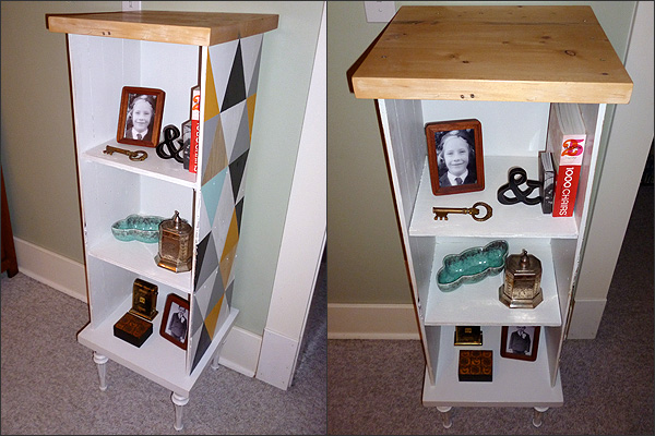 Thrifty By Design: Home sweet home for my repurposed wood ...