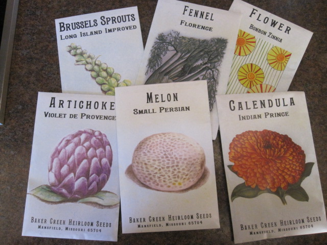 Seeds for my Garden