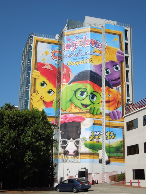 Giant Oogieloves Big Balloon Adventure movie billboard