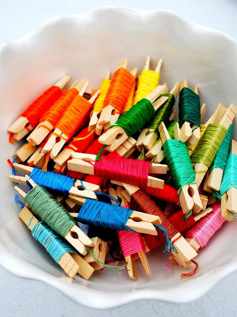 Storage solution roundup embroidery floss craft