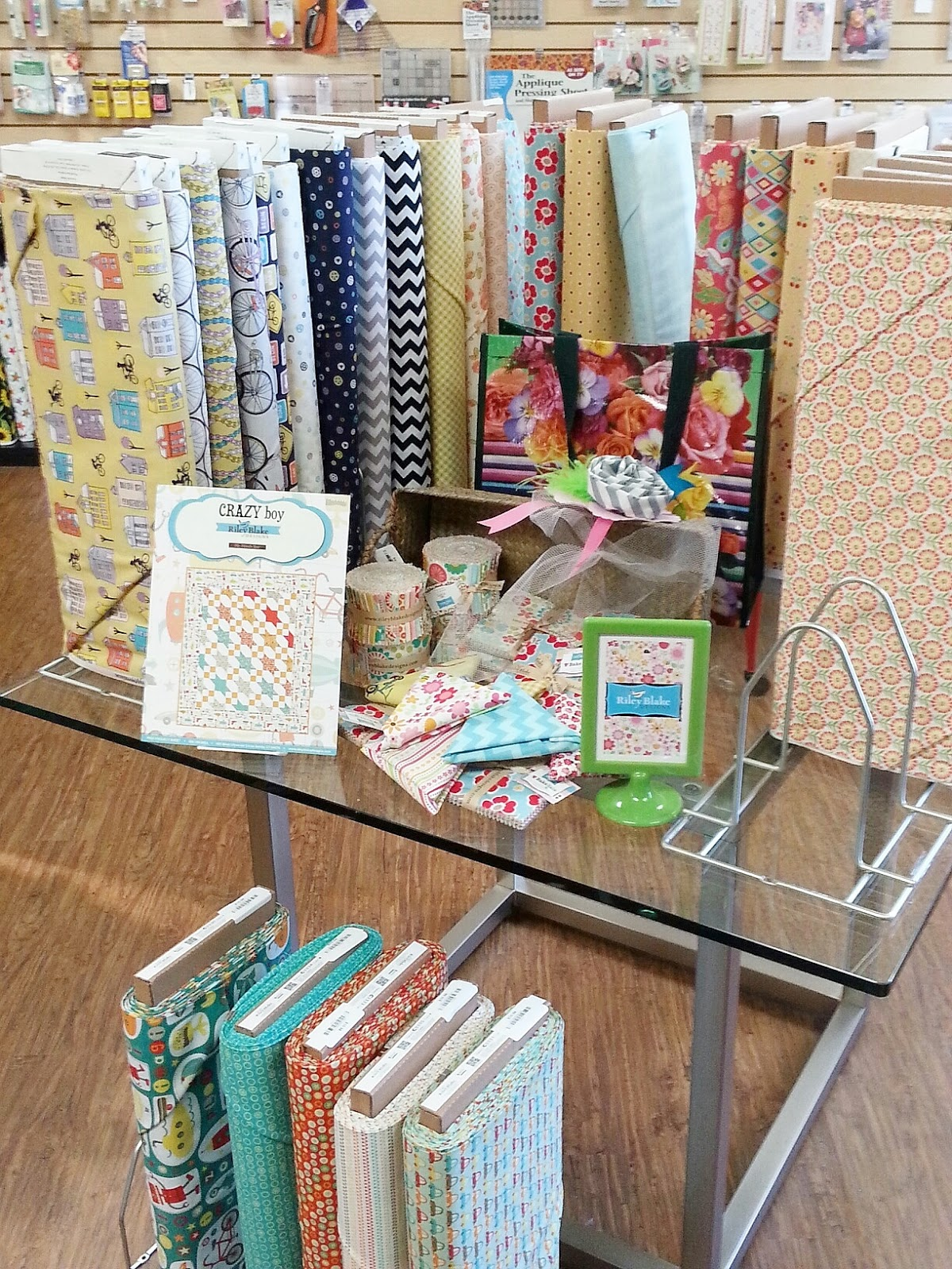 Fabric Mutt The Quilt Loft Grand Opening