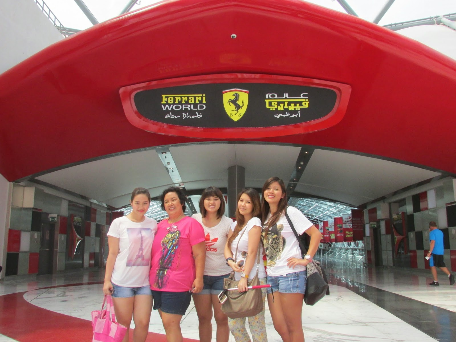 You will be amazed with all the actual ferrari cars displayed especially if you are a car enthusiast