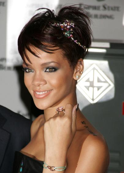 rihanna new tattoo