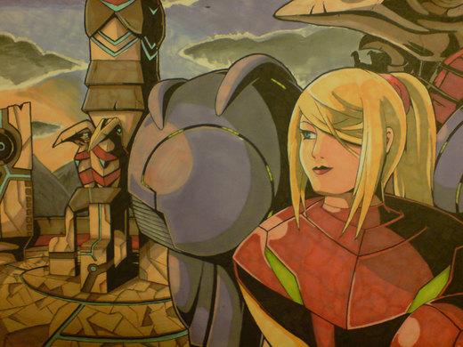.. and Metroid Prime por Jofinin