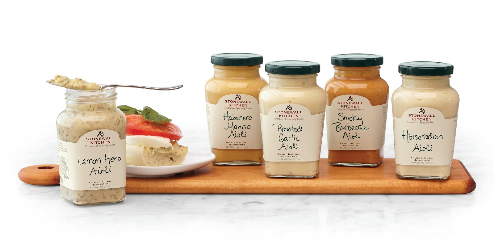 Stonewall Kitchen Aioli Thinking beyond a sandwich spread