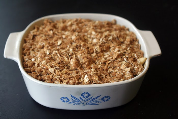 Apple Cider Crumble | hardparade.blogspot.com