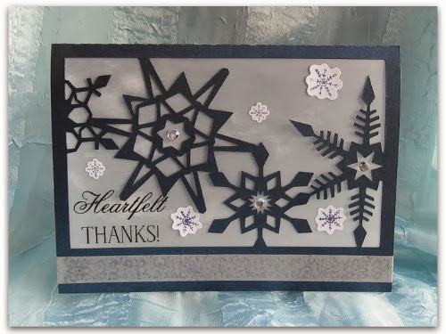 Snowflake Cards with Christine