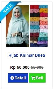 Jilbab Khimar Dhea