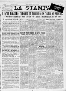 LA STAMPA  6 DICEMBRE 1932