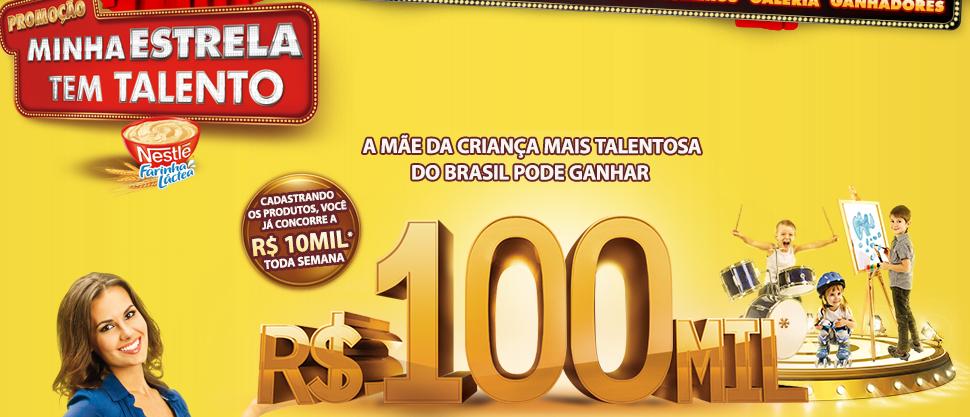 """Promoção """"Minha Estrela Tem Talento"""" - Nestlé"""
