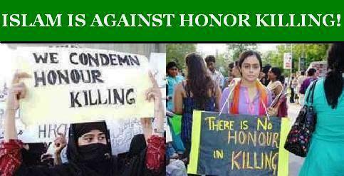 """honor Killing"" a Crime"