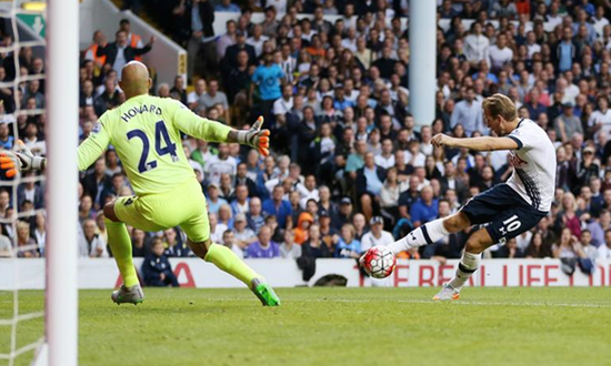 Tottenham 0 x 0 Everton - Premier League 2015/16