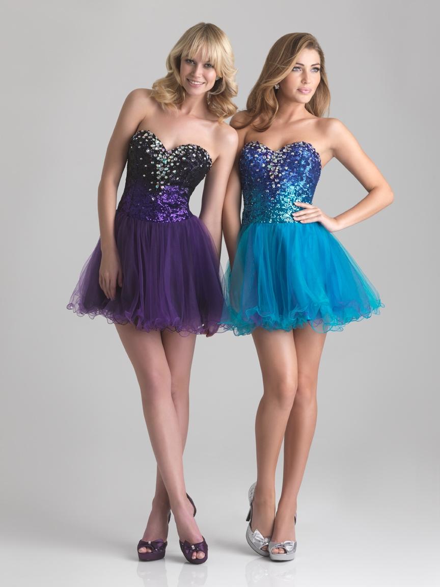 Rock Short Dresses