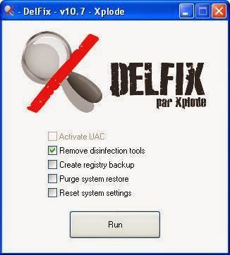 Pantalla inicial DelFix
