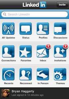 linkedin app android iOS