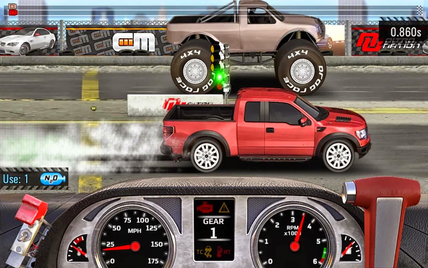 Drag Racing 4x4 v1.0.84 Mod [Unlimited Money]