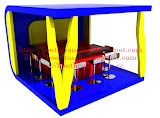 BOOTH COUNTER BOOTH MAKANAN