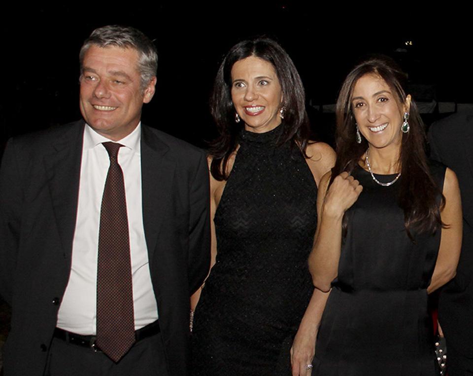 Paolo Pininfarina, Carla Guarita e Beatriz Yunes Guarita