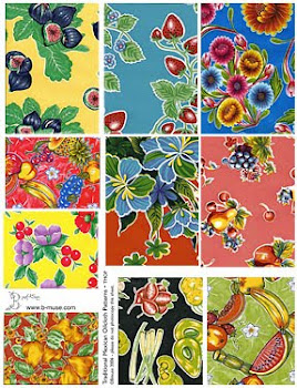 Mexican oilcloth patterns