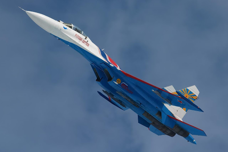 Sukhoi Su-27 Flanker Superiority Fighter Jet