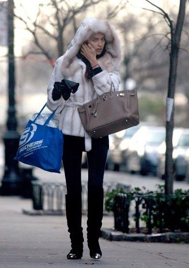 Who Carries Birkin Bags?   Irina Sheik