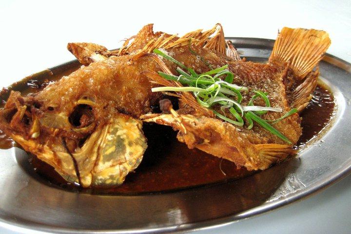 Deep fried tilapia for Fried tilapia fish