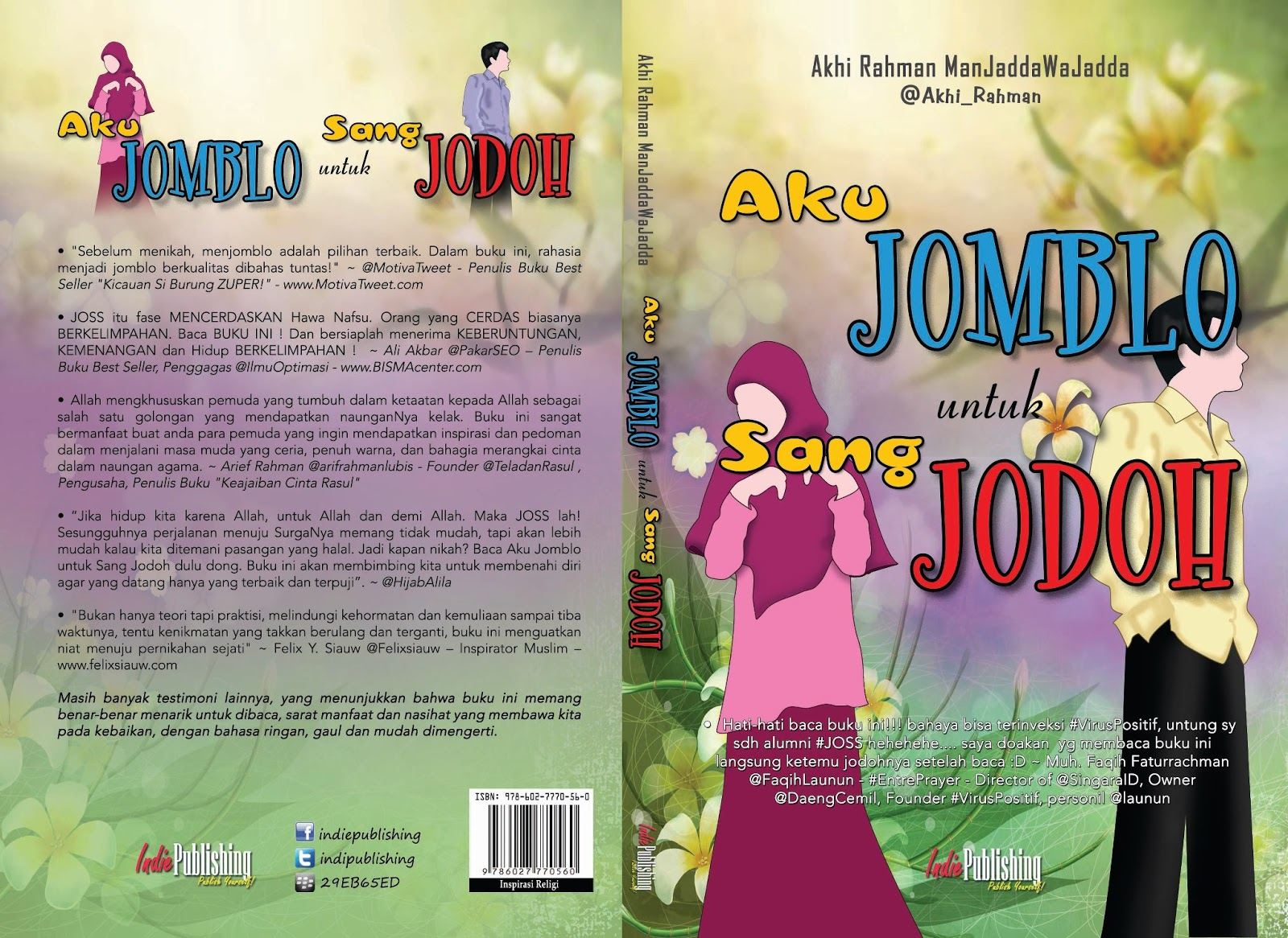 Akhi Rahman Manjaddawajada Order Buku Aku Jomblo Untuk Sang Jodoh