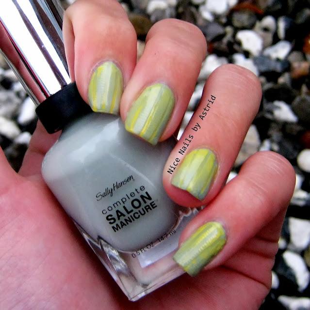 Fælles Fredag - Art reverse gradient - Sally hansen Pumice - Nice nails by astrid