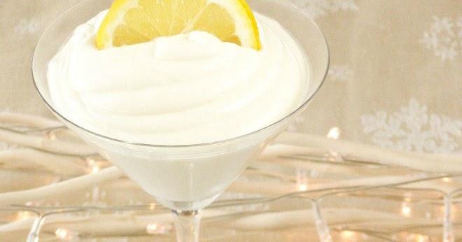 maple•spice: Lemon Coconut Posset with Golden Cardamom Shortbread