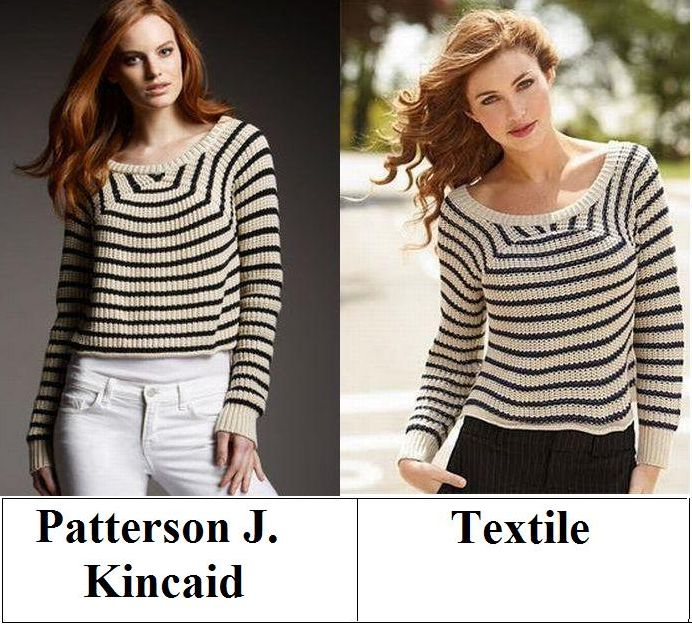 e17a045c60 Tightwad Tuesday  Patterson J. Kincaid Melinda Striped Cropped Sweater for  Less