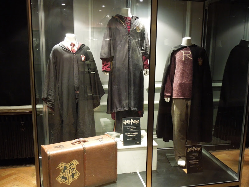 Original Harry Potter costume display