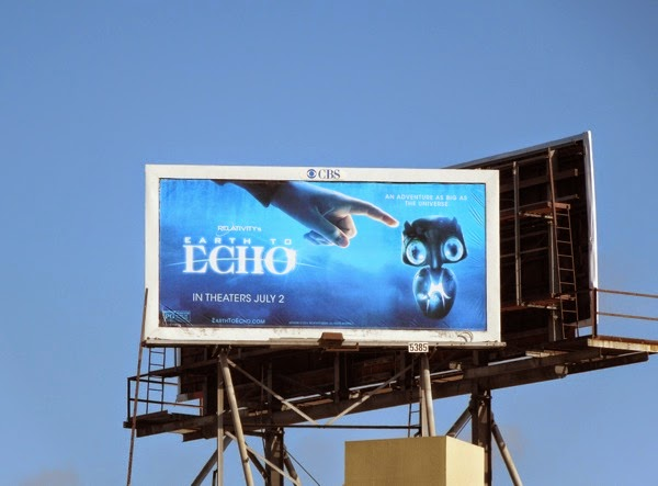 Earth to Echo film billboard